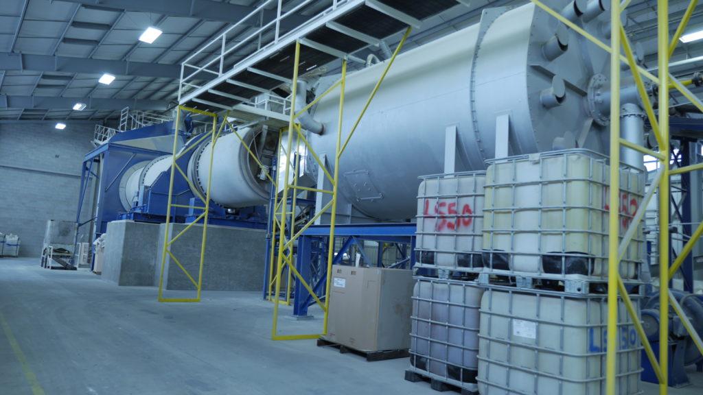 granulation services in UFF facility located in central Virginia